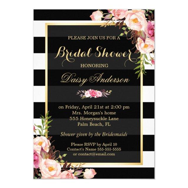 Vintage Floral Decor for Wedding Bridal Shower