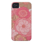 Vintage floral fabric iphone 4 cases casemate cases