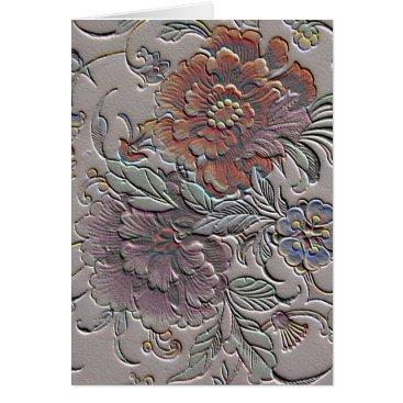 Vintage Floral Mother's Day Card