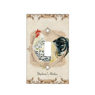 Rooster Wall Plates & Light Switch Covers Zazzle