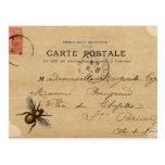 Vintage French Ephemera Postcard