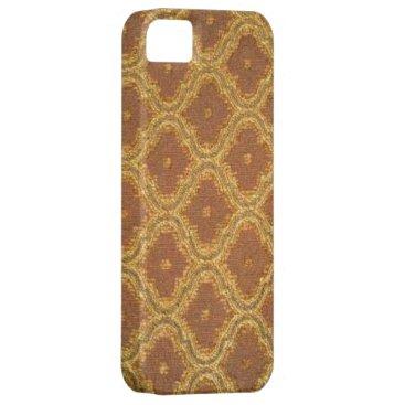 Vintage Gold Brown Damask Case-Mate iPhone 5