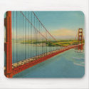 Vintage Golden Gate Bridge Mousepad zazzle_mousepad
