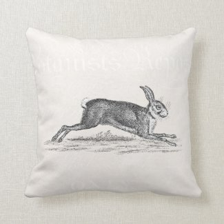 Vintage Hare Bunny Rabbit Illustration - Rabbits