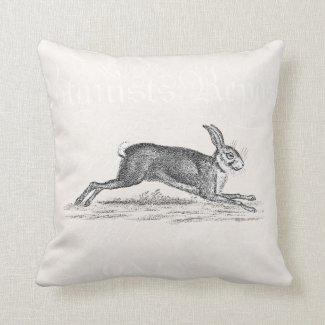 Vintage Hare Bunny Rabbit Illustration -Rabbits