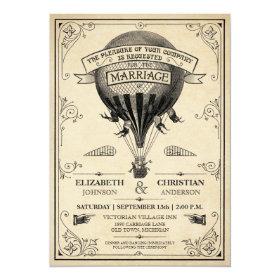 Steampunk Wedding Invitations Custom