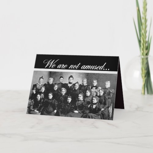 Vintage Ladies' Group Happy Birthday card