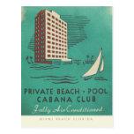 Vintage Matchbook design poster from Miami Postcard