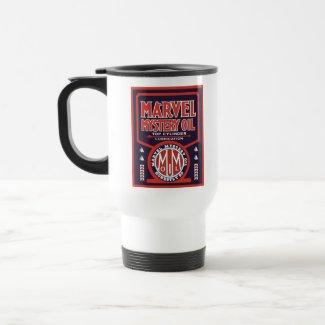Vintage Oil sign reproduction mug