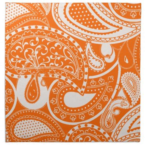 Vintage Paisley swirl pattern napkins mojo_napkin