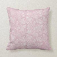 Vintage Pink Paisley Throw Pillow | Zazzle
