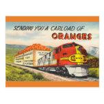 Vintage Retro Art Southern California Travel Postcard