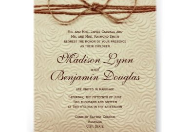 Vintage Wedding Invitations Announcements Zazzle