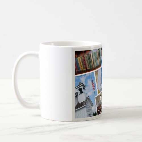 Vintage School House Thanks! Mug mug