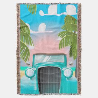 Seafoam Green Throw Blankets  Zazzle