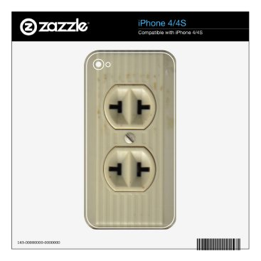 Vintage Socket Decal For The iPhone 4S