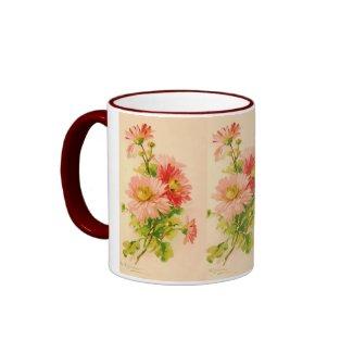 Vintage Spring Bouquet Mug mug