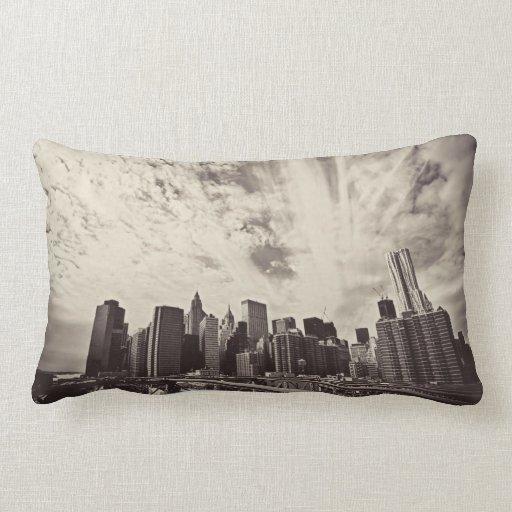 New York City Skyline Pillows New York City Skyline Throw