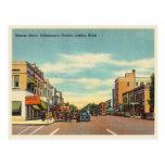 Vintage Tallahassee, Florida Monroe Street Postcard