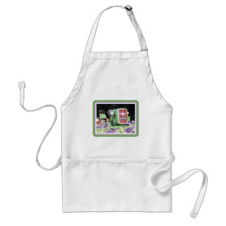 Vintage Tractor Flowers Aprons