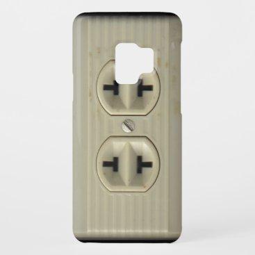Vintage Wall Socket Samsung Galaxy S Case