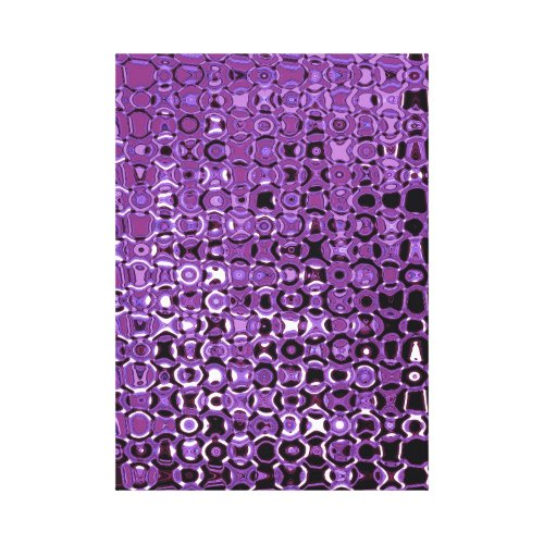 Violet Vortex Premium Wrapped Canvas