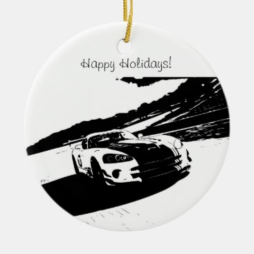 Viper Rolling Shot Christmas Ornaments