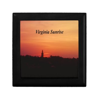 Virginia Sunrise Trinket Boxes