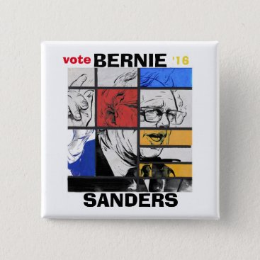 Vote Bernie '16 Button