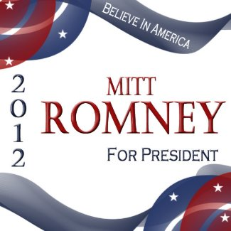 Vote for Romney 2012 Button zazzle_button