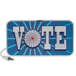 VOTE Speaker - Speak Your Mind & Promote The Vote doodle