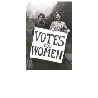 Votes for Women shirt