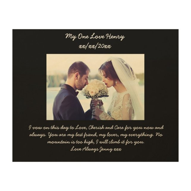 Vow renewal gift for husband