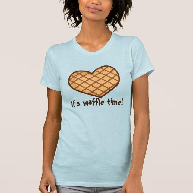Waffle Time Pajama Top