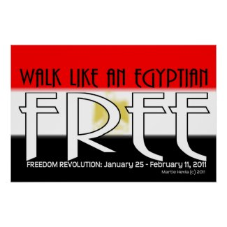 Walk Like An Egyptian: Free - Poster/Print print