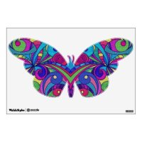 Wall Decal Floral abstract | Zazzle