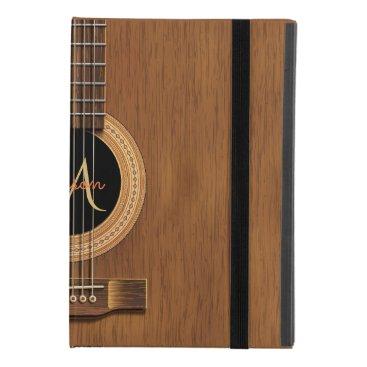 Warm Wood Acoustic Guitar iPad Mini 4 Case