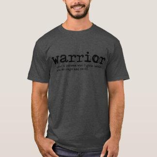 Warrior Definition Men's Basic Dark T-Shirt