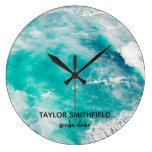 Water Large Clock