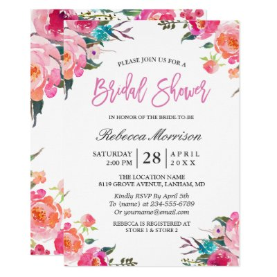 Bridal Shower Traditions