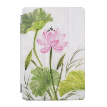 Watercolor Painting Of Lotus Flower 2 iPad Mini Cover
