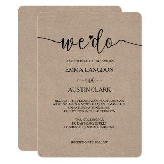 Interesting We Do Wedding Invitations 68 For Your With