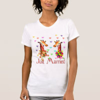 Wedding Giraffes T-Shirt