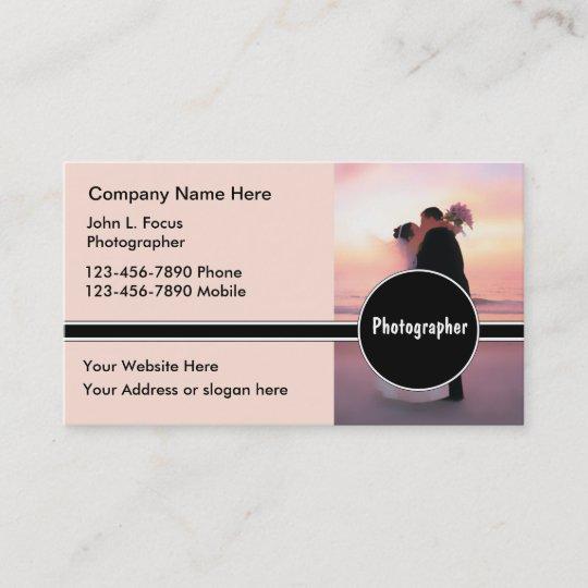Wedding Photography Business Cards  Zazzlecom