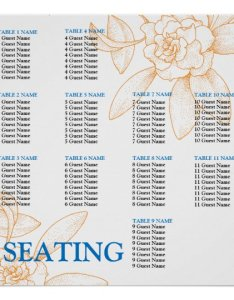 also wedding reception seating chart template zazzle rh