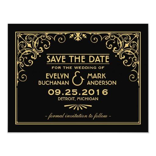 Customizable Save Date Announcement Postcards
