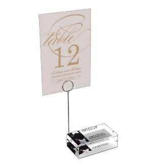 Wedding Table Card Holder