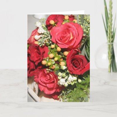 Wedding Wishes Greeting Card by shannalynn. Wedding Greeting Card