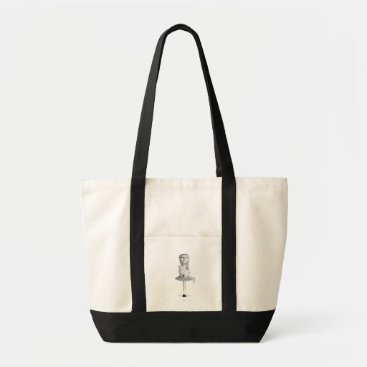 Weird Girl Tote Bag