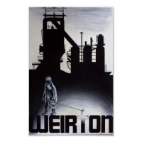 Weirton Steel Mill Blast Furnace Poster | Zazzle